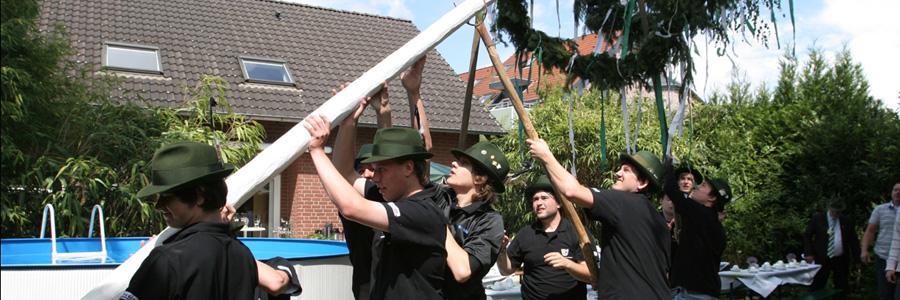 Jungscheibenschützen - Der größte Jungschützenzug der Bruderschaft